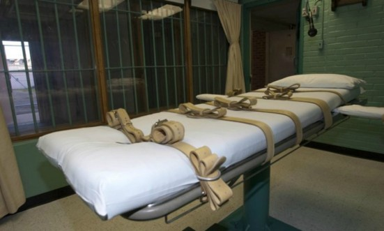 Death row inmate Michael Brandon Samra was given a lethal injection at William C. Holman Correctional Facility in Atmore, Alabama. on Thursday, May 16, 2019. Photo Alabama Department of Corrections.