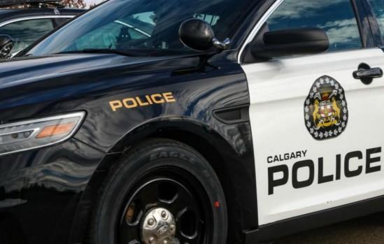 Calgary Police Service vehicle