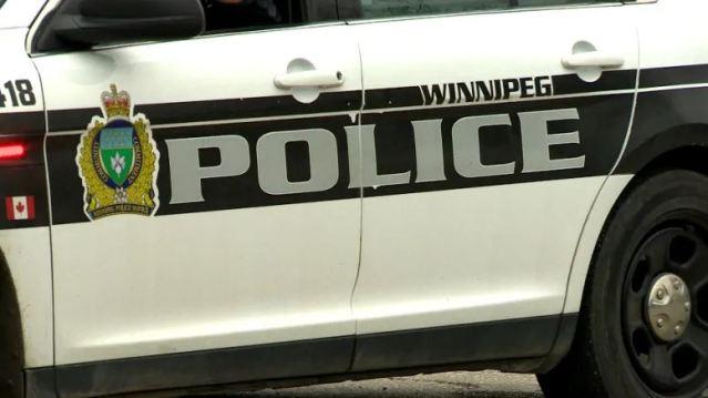 Winnipeg police cruiser.
