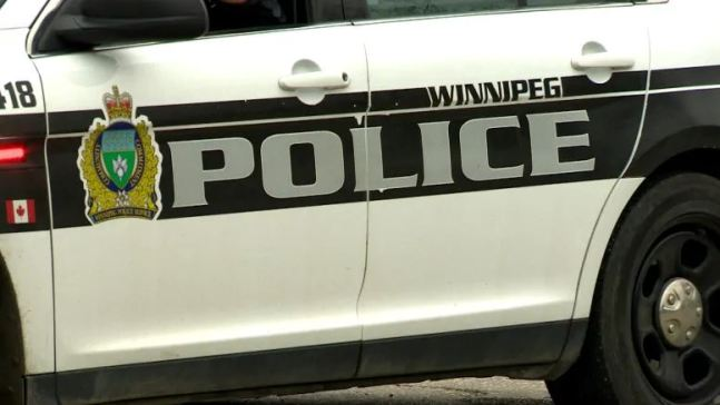 Winnipeg police cruiser.