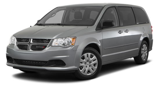 A grey coloured 2012 Dodge Caravan. (Stock image – not actual suspect vehicle)